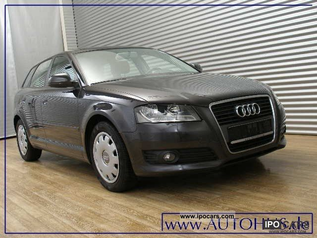 2010 audi a3 sportback 1 6 tdi ambition s tronic klimaa car photo and specs. Black Bedroom Furniture Sets. Home Design Ideas