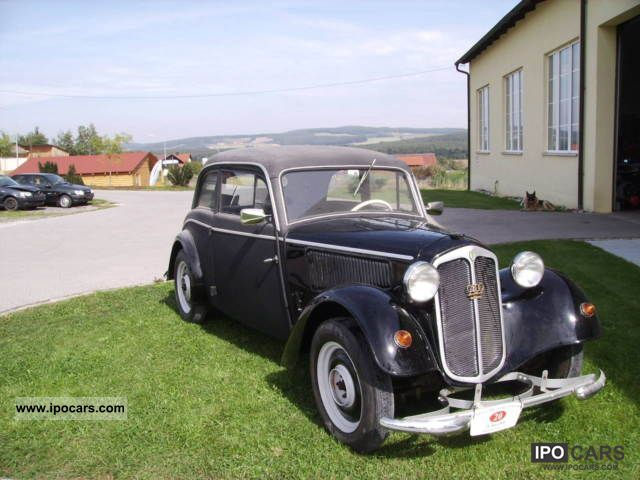 1938 Audi  Auto Union DKW F7 Limousine Classic Vehicle photo