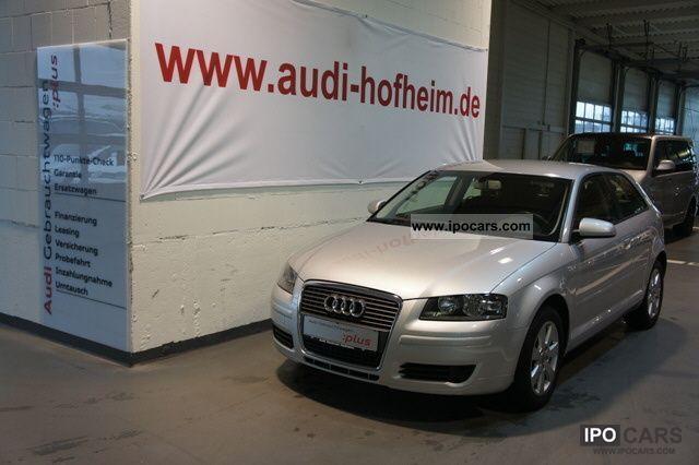 2007 Audi  A3 1.4TFSI environment * Radio / CD * Climate * Handyvorbere Limousine Used vehicle photo