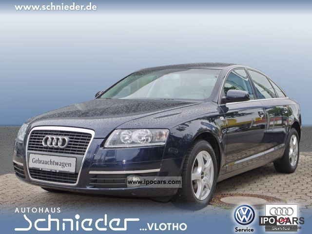 2006 Audi  A6 (Navi air power windows PDC) Limousine Used vehicle photo