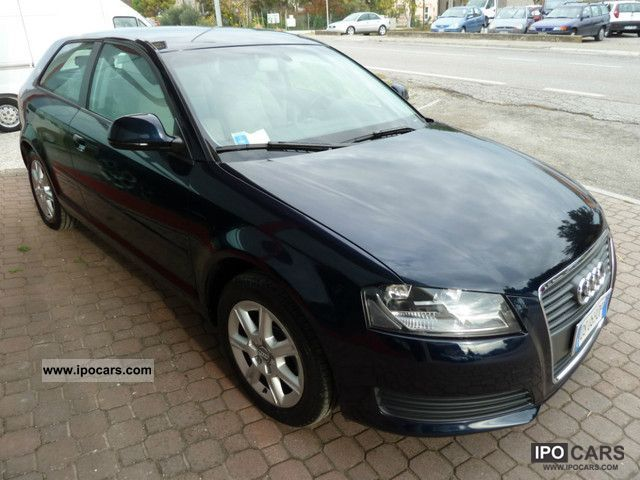 2008 Audi  A3 1.9 TDI Ambiente FAP 3pt. Limousine Used vehicle photo