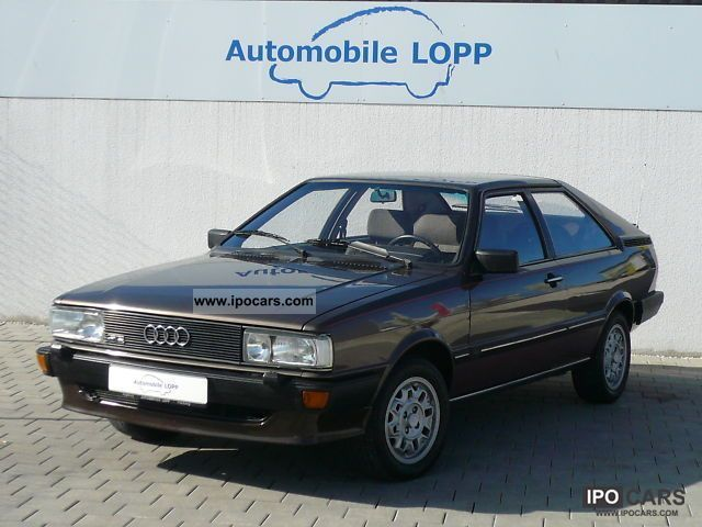 1982 Audi  Coupé GT 5E TOP CONDITION PART LEATHER 1.HAND Sports car/Coupe Used vehicle photo