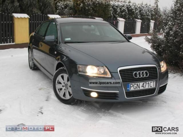 2007 audi a6 zarejestrowany navi car photo and specs. Black Bedroom Furniture Sets. Home Design Ideas