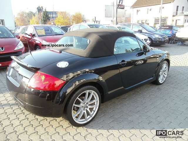 2006 audi tt roadster 1 8 excellent condition car photo and specs. Black Bedroom Furniture Sets. Home Design Ideas