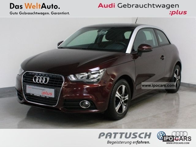 2010 Audi  A1 1.4 TFSI Sitzhzg Klimaautom parking aid Limousine Used vehicle photo