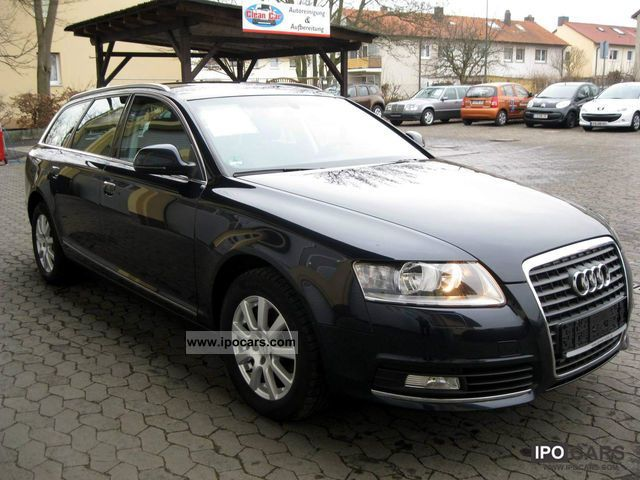 2009 audi a6 avant 2 7 tdi multitronic dvd navigation sh car photo and specs. Black Bedroom Furniture Sets. Home Design Ideas