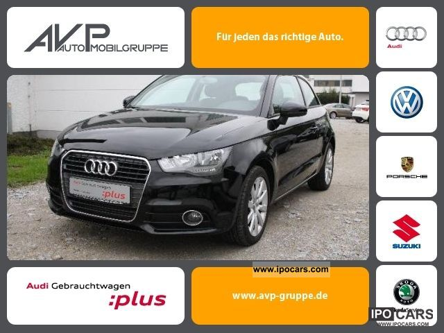 2010 Audi  A1 Attraction 1.6 TDI * Aluminum Sitzh. * 28% and list Small Car Used vehicle photo