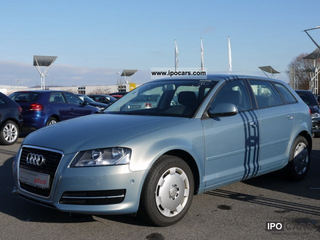 2010 Audi  A3 Sportback 1.6 TDI park assist, hill-Anfa Limousine Used vehicle photo