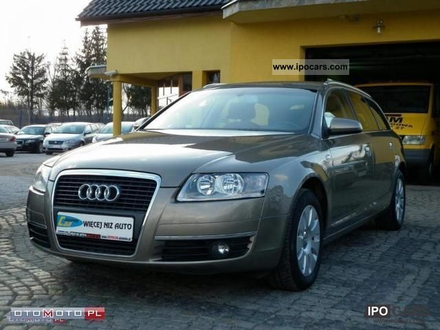 2006 Audi  A6 ESTATE NAVI SKORA Duza Estate Car Used vehicle photo