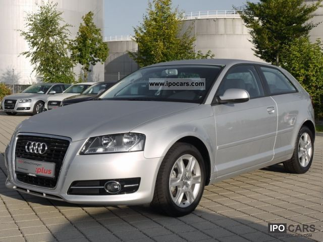 2010 Audi  A3 1.4 TFSI Sitzhz aluminum. PDC 6-speed Limousine Used vehicle photo