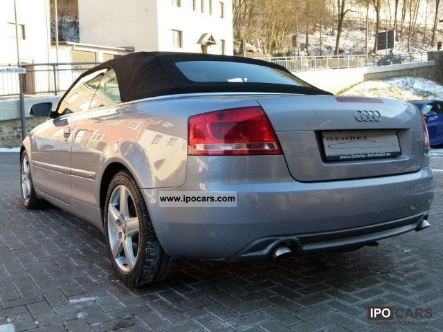 2006 audi a4 cabriolet 3 0 tdi s line exterior. Black Bedroom Furniture Sets. Home Design Ideas