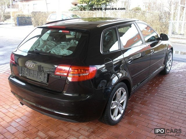 2010 audi a3 sportback 1 6 tdi dpf ambition xenon car photo and specs. Black Bedroom Furniture Sets. Home Design Ideas