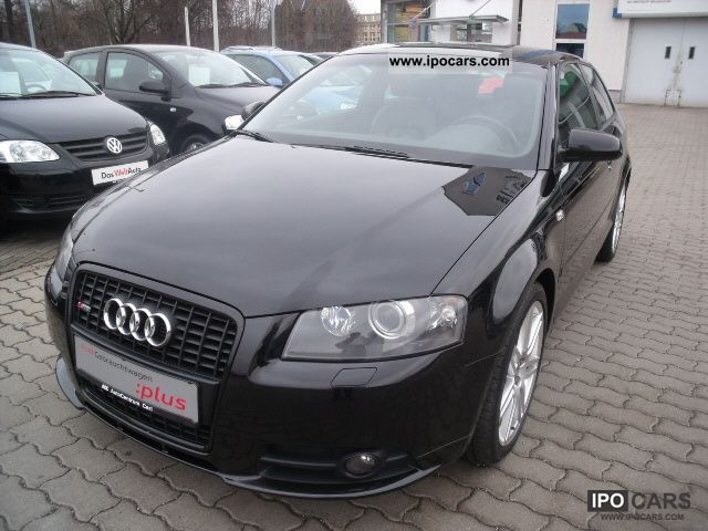 2006 Audi  A3 S-line sports package plus 2.0 TDI quattro Limousine Used vehicle photo