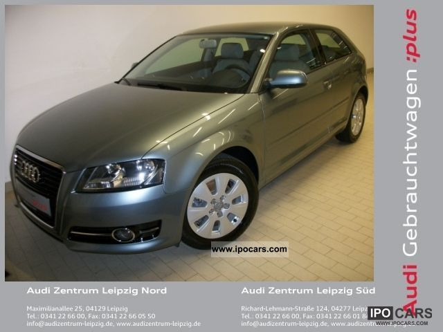 2010 Audi  A3 1.4l TFSI Attraction, 6-speed Limousine Used vehicle photo