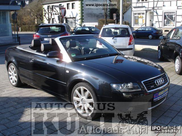 2004 Audi  Cabriolet 3.0 quattro leather Cabrio / roadster Used vehicle photo