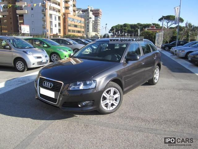 2010 Audi  A3 SPB. 1.6 TDI CR F.AP. Attraction N1119 Limousine Used vehicle photo