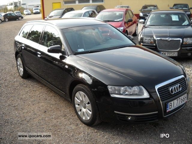 2006 Audi  A6 DUZE COMBINATION, OSZCZĘDNY Silnik DIESLA! Estate Car Used vehicle photo