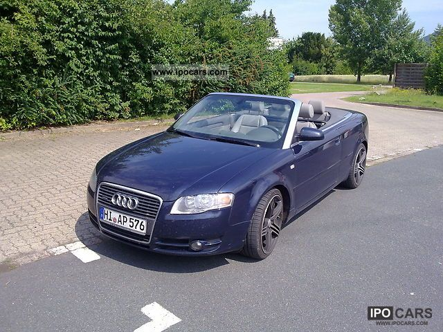 2006 audi a4 cabriolet 3 0 tdi quattro full full car photo and specs. Black Bedroom Furniture Sets. Home Design Ideas