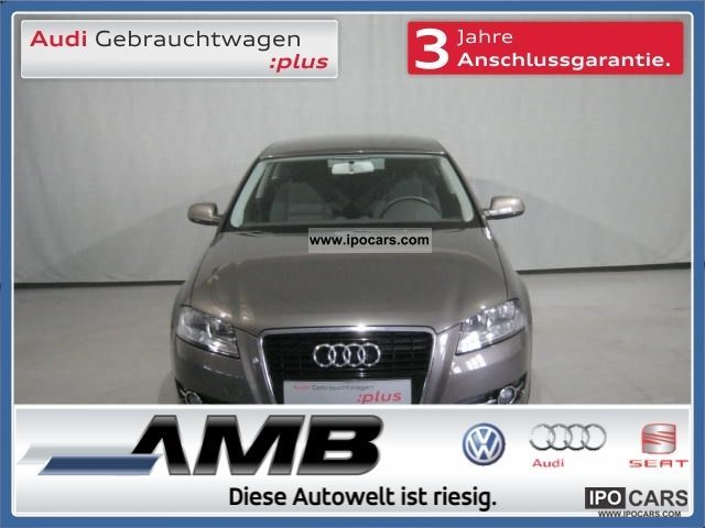 2011 Audi  A3 1.4 TFSI SHZ / MFL / Bluetooth / APS / aluminum / GRA Limousine Employee's Car photo