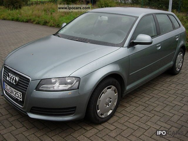 2010 Audi  A3 2.0 TDI Sportback S tronic DPF Attraction Estate Car Used vehicle photo