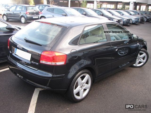 2008 audi a3 ii 2 2 0 tdi 140 pack to ambition l car photo and specs. Black Bedroom Furniture Sets. Home Design Ideas