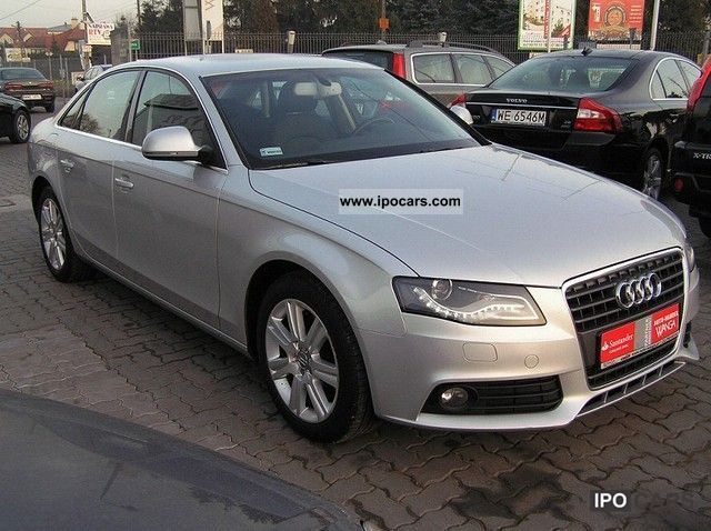 2008 audi a4 data pierwszej car photo and specs. Black Bedroom Furniture Sets. Home Design Ideas