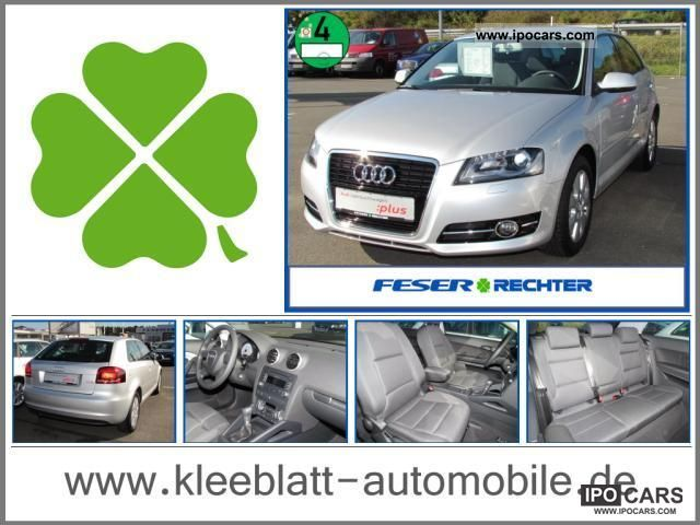 2010 Audi  A3 1.2 TFSI + heated seats + Xenon + PDC Limousine Used vehicle photo