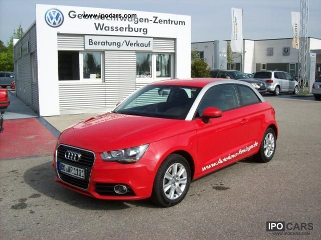 2010 audi a1 1 4 tfsi 90 kw 122 bhp attraction air alu car photo and specs. Black Bedroom Furniture Sets. Home Design Ideas