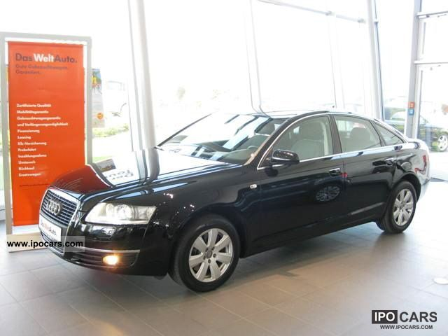 2008 Audi  A6 Saloon 2.7 TDI Multitronic, xenon lights, trailer hitch, ParkP Limousine Used vehicle photo