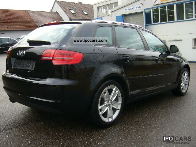 2009 audi a3 2 0 tdi sportback dpf dsg ambition s tronic car photo and specs. Black Bedroom Furniture Sets. Home Design Ideas