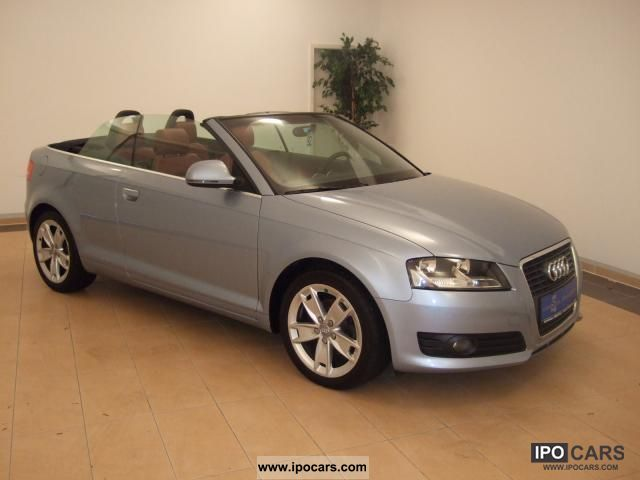 2008 Audi  A3 Cabriolet 1.9 TDI Ambition leather climate Cabrio / roadster Used vehicle photo