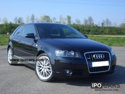 2005 Audi  A3 2.0 TFSI (DSG) S tronic S line sports package TOP Limousine Used vehicle photo