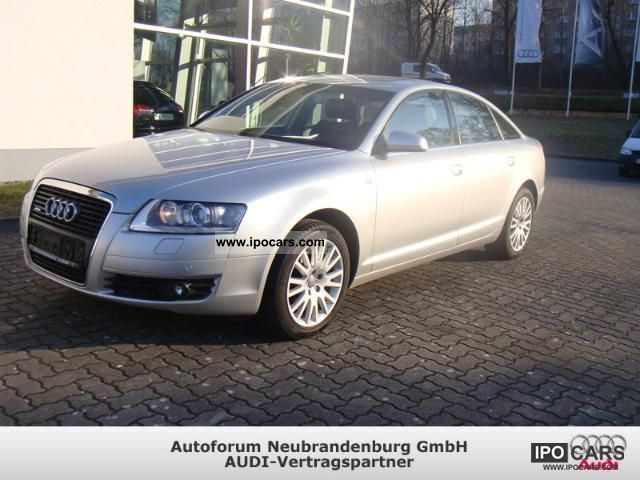 2007 audi a6 sedan car photo and specs. Black Bedroom Furniture Sets. Home Design Ideas
