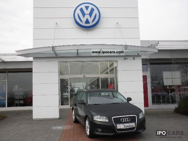 2010 Audi  A3 Sportback 1.6 TDI Ambition climate MP3 CD Limousine Used vehicle photo