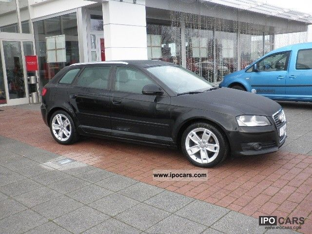 2010 audi a3 sportback 1 6 tdi ambition climate mp3 cd car photo and specs. Black Bedroom Furniture Sets. Home Design Ideas