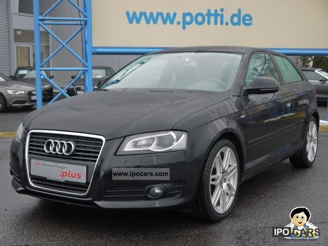 2009 Audi  A3 S-line TDi Ambition 2.0 DPF (xenon climate) Limousine Used vehicle photo