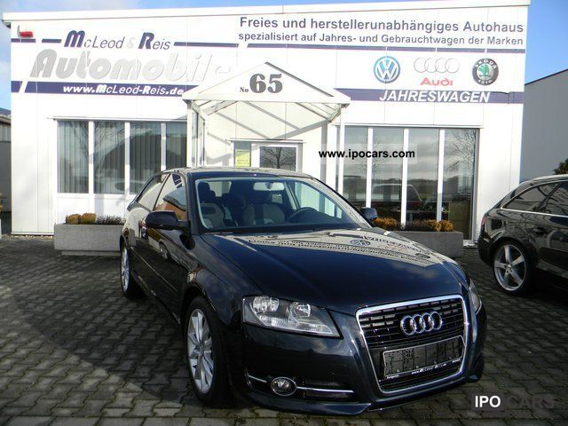 2010 Audi  A3 1.2 TFSI Ambition BLUETOOTH / cruise / Sitzhzg. Limousine Used vehicle photo