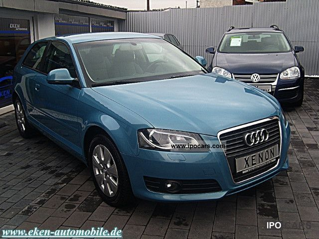 2009 audi a3 2 0 tdi dpf facelift xenon best maintained car photo and specs. Black Bedroom Furniture Sets. Home Design Ideas