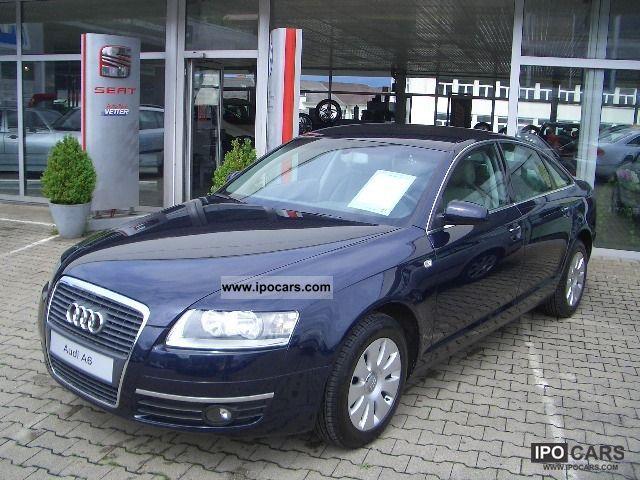 2006 Audi  A6 Saloon 2.4 V6 / 1.Hand/Sitzheizung/Klima Plus Limousine Used vehicle photo