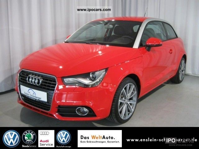 2010 Audi  A1 Ambition 1.6 TDI DPF Xenon Air CD Sitzheiz Limousine Demonstration Vehicle photo