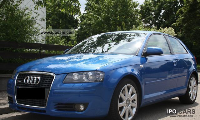 2006 Audi  A3 2.0 TFSI (DSG) S tronic S line sports package plu Limousine Used vehicle photo