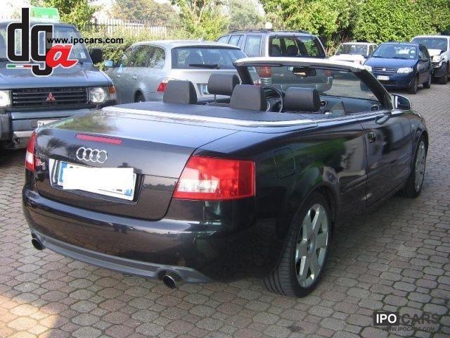 2004 Audi S4 Cabriolet 4.2 V8 Quattro - Car Photo and Specs