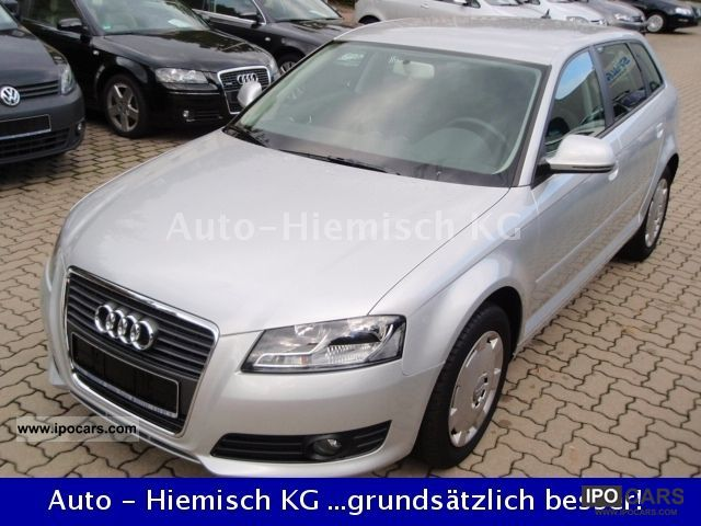 2009 Audi  A3 1.4 TFSI Sportback facelift Navi Sitzh Pakse Estate Car Used vehicle photo