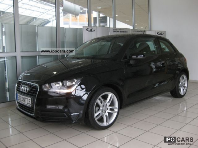 2010 Audi  A1 Attraction 1.6 TDI DPF Limousine Used vehicle photo