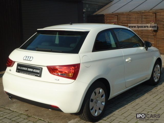 2010 audi a1 1 6 tdi mmi navigation air 2 105 hp tkm car photo and specs. Black Bedroom Furniture Sets. Home Design Ideas