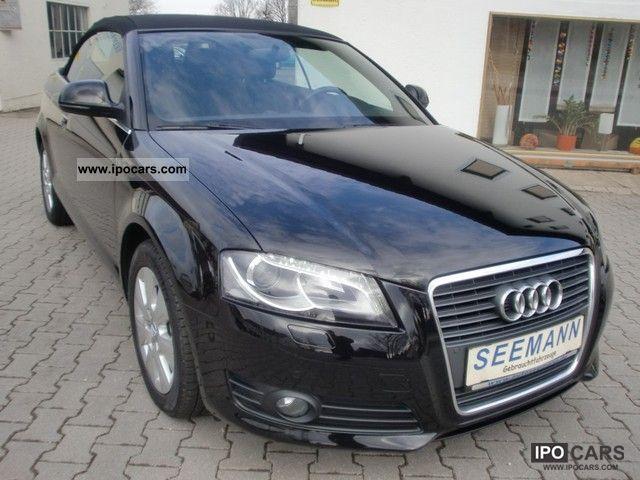 2008 Audi  A3 Cabriolet 1.6 Attraction xenon * SH * APS Cabrio / roadster Used vehicle photo