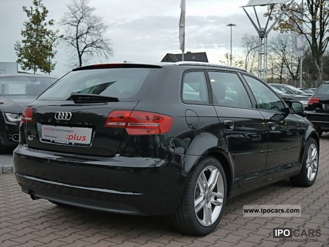 2010 audi a3 sportback 1 6 ambition bluetooth pdc 3 years car photo and specs. Black Bedroom Furniture Sets. Home Design Ideas