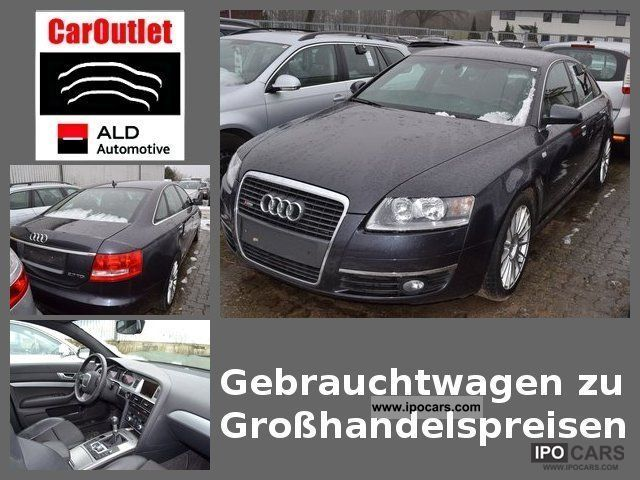 2008 Audi  A6 2.7 TDI S-Line, part leather upholstery, navigation Limousine Used vehicle photo