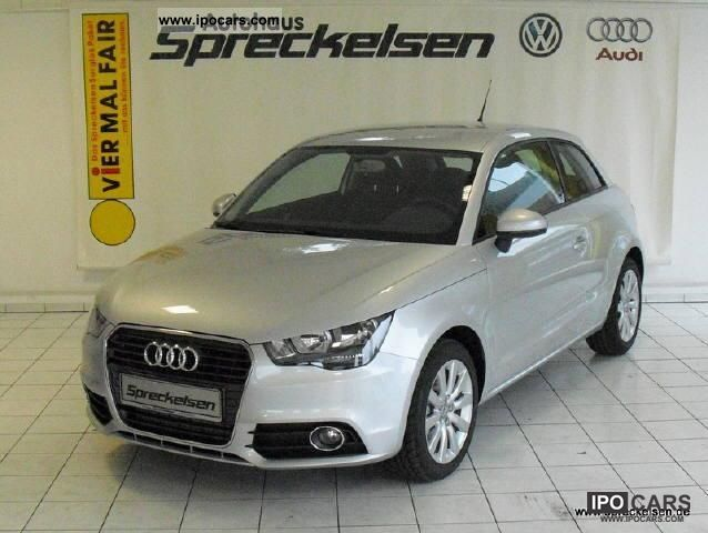 2010 Audi  A1 Attraction 1.6 TDI seats alloy wheels Limousine Demonstration Vehicle photo