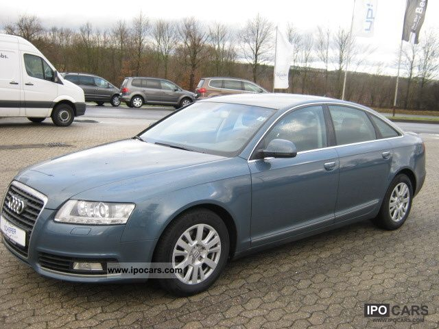 2009 Audi  A6 Saloon 2.7 TDI facelift Navi, PDC, Hagelsc Limousine Used vehicle photo